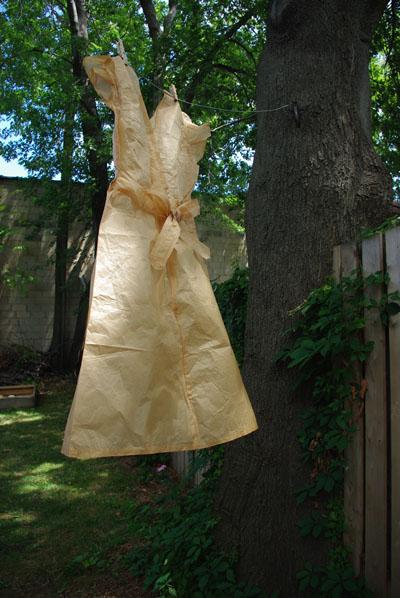 tissue dress